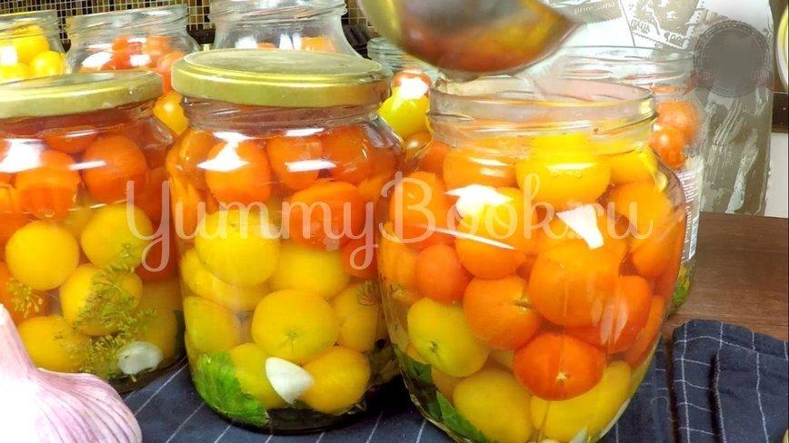 Сладкие маринованные помидоры на зиму - шаг 9