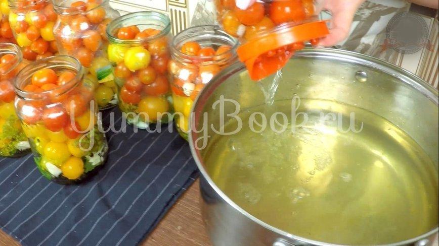 Сладкие маринованные помидоры на зиму - шаг 7