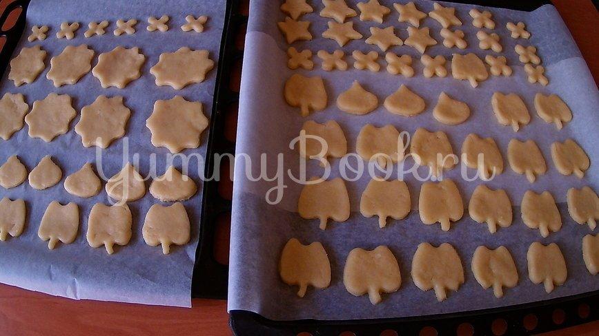Домашнее коричное печенье - шаг 5