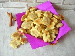 Домашнее коричное печенье