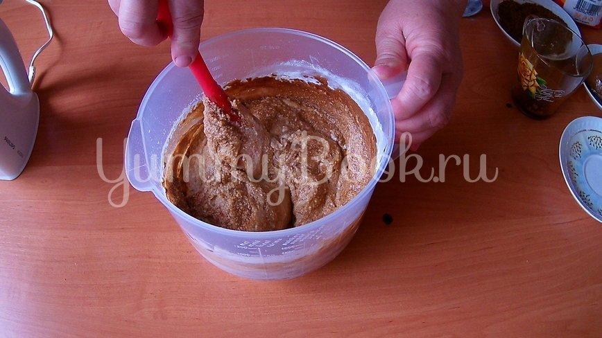 Орехово-кофейный торт на День рождения - шаг 3