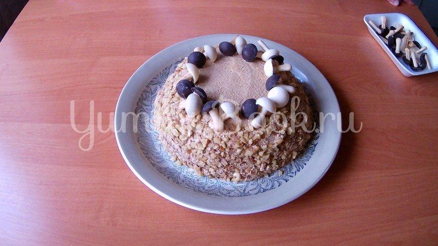 Орехово-кофейный торт на День рождения - шаг 9