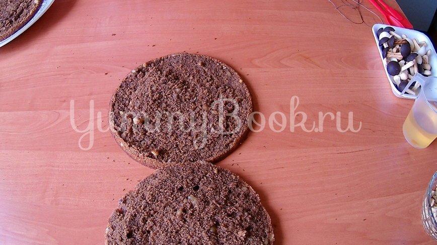 Орехово-кофейный торт на День рождения - шаг 6