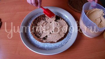 Орехово-кофейный торт на День рождения - шаг 7