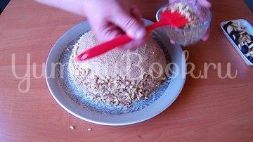 Орехово-кофейный торт на День рождения - шаг 8