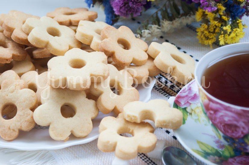 Рассыпчатое печенье на желтках - шаг 8