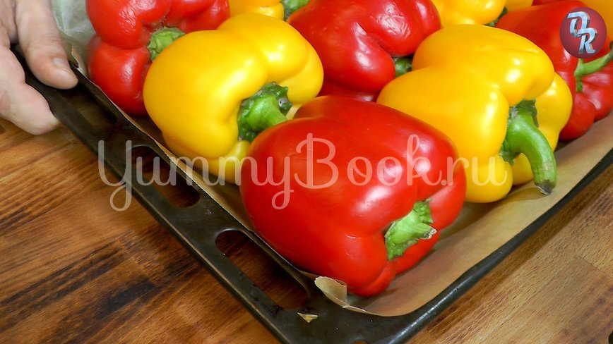 Болгарский перец с чесноком - шаг 1