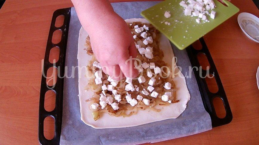 Луковый пирог без заморочек  - шаг 5