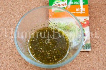 Салат с макаронами и сыром фета - шаг 7