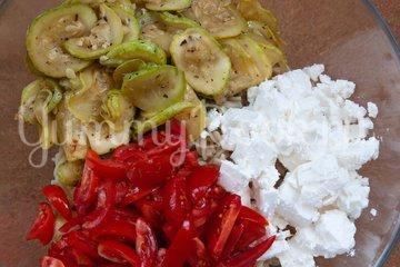 Салат с макаронами и сыром фета - шаг 6
