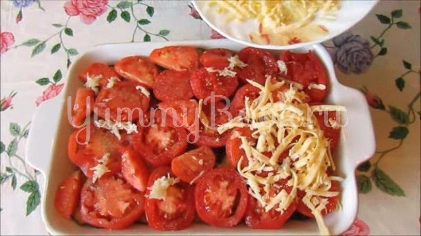 Куриная запеканка с баклажанами и помидорами - шаг 6