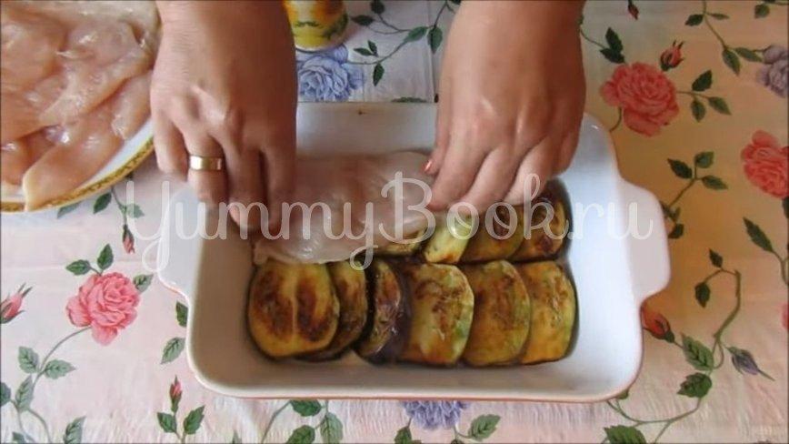Куриная запеканка с баклажанами и помидорами - шаг 4