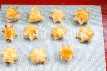 """Мини-пирожки """"Звёздочки"""" - шаг 8"""