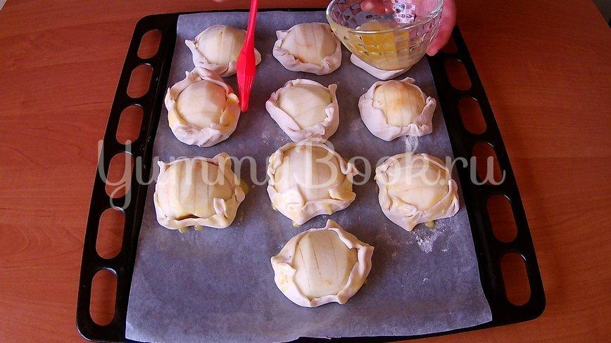 Открытые слойки с яблоками - шаг 3