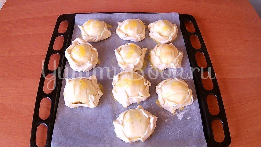 Открытые слойки с яблоками - шаг 4