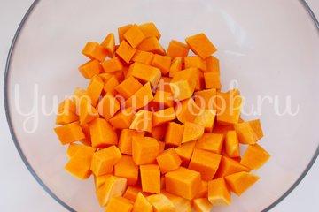 Жареная тыква с соевым соусом - шаг 1