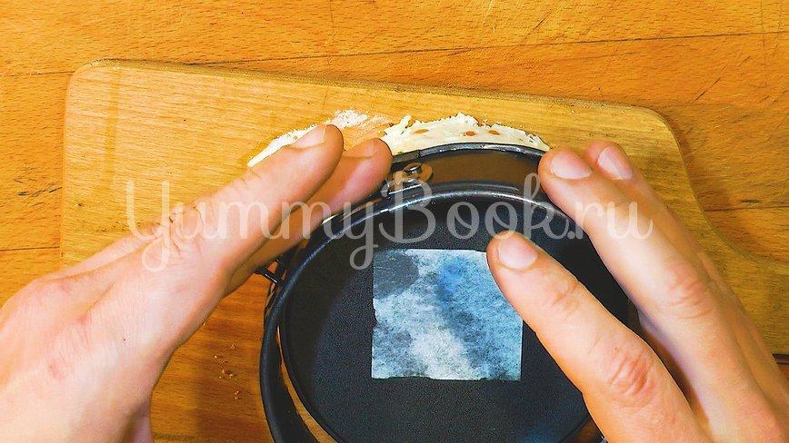 Чизкейк без выпечки с икрой - шаг 9
