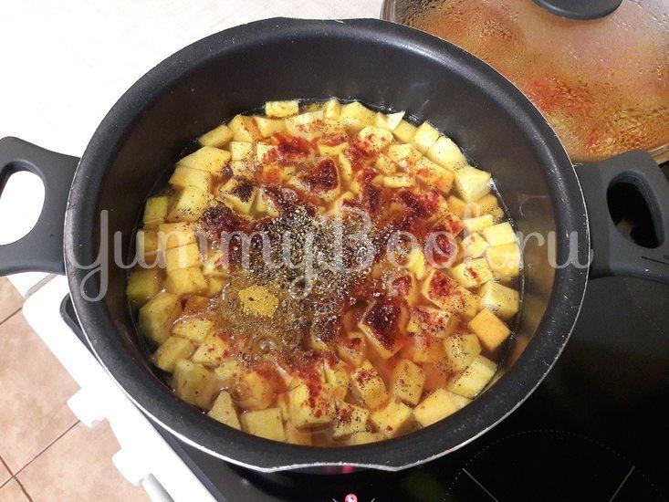 Овощной тыквенно-гороховый суп - шаг 10