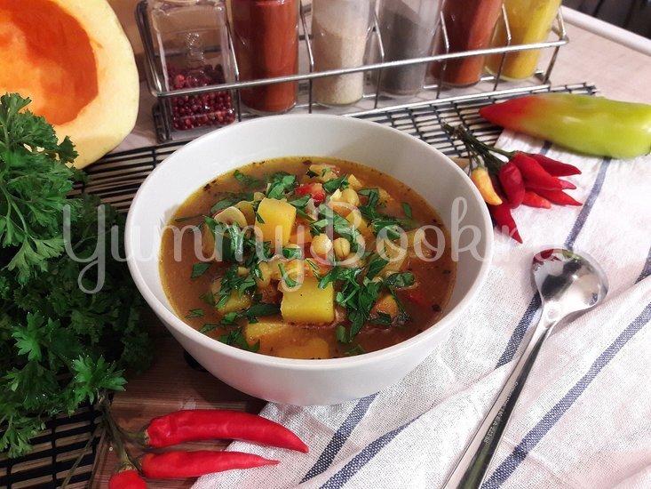 Овощной тыквенно-гороховый суп - шаг 15