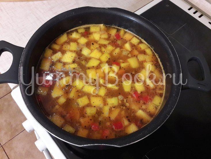 Овощной тыквенно-гороховый суп - шаг 11