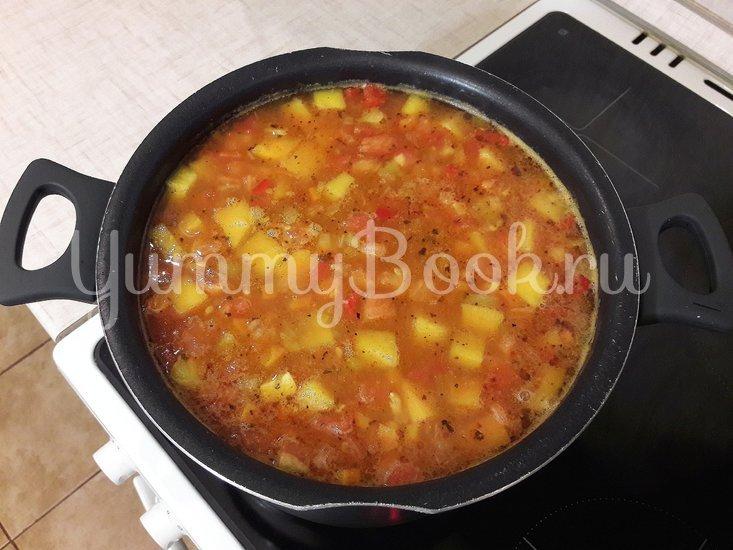 Овощной тыквенно-гороховый суп - шаг 13