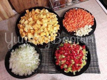 Овощной тыквенно-гороховый суп - шаг 2