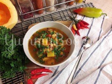 Овощной тыквенно-гороховый суп - шаг 14