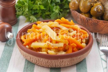 Жареный картофель с тыквой - шаг 5