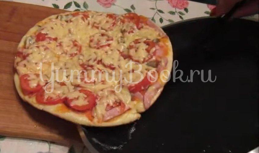 Пицца на сковороде за 10 минут - шаг 5