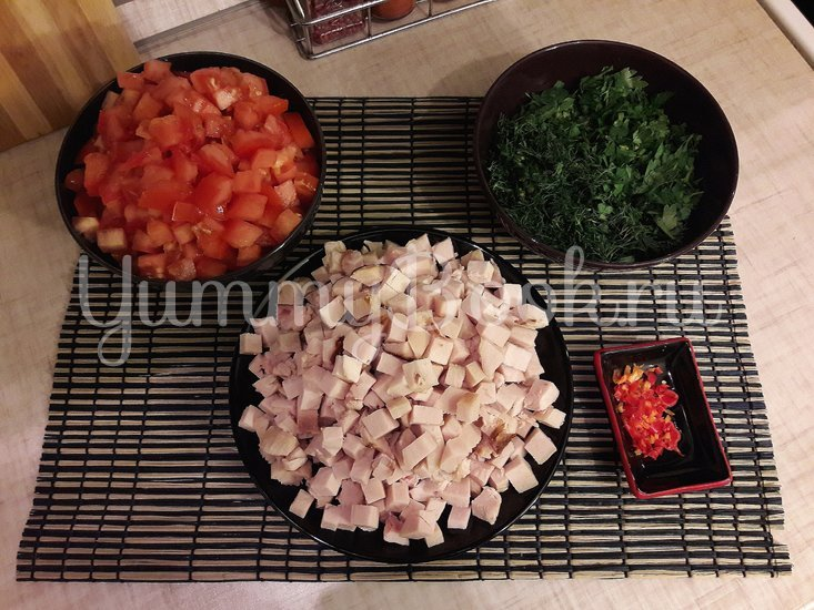 Тыквенно-чечевичный суп с копчёной курицей - шаг 3