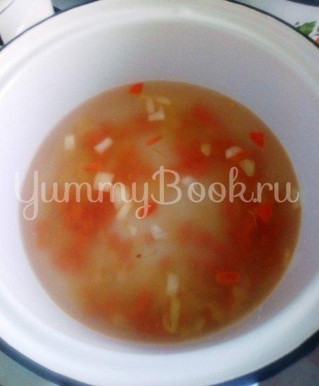 Французский сырный суп с форелью - шаг 6