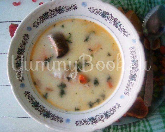 Французский сырный суп с форелью - шаг 15