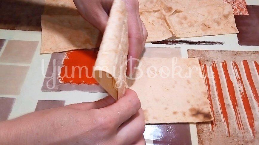 Завтрак из лаваша на скорую руку - шаг 2