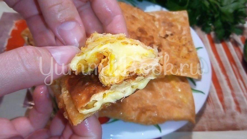 Завтрак из лаваша на скорую руку - шаг 4