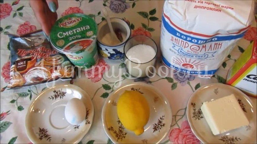 Домашнее лимонное печенье - шаг 1
