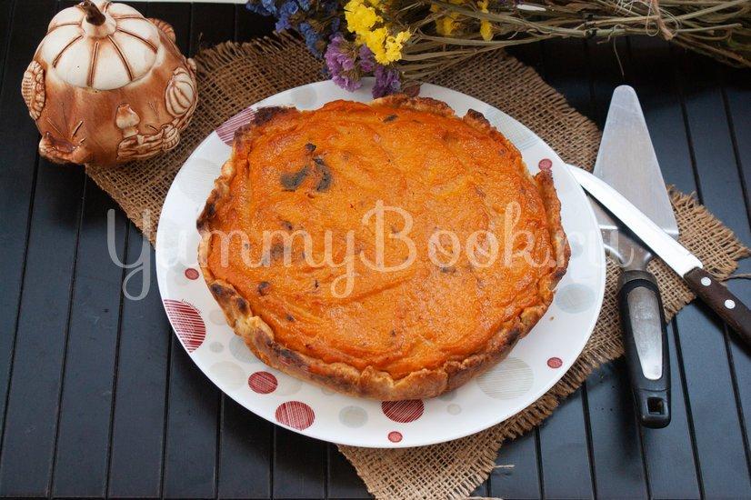 Пирог с тыквой и черносливом - шаг 13