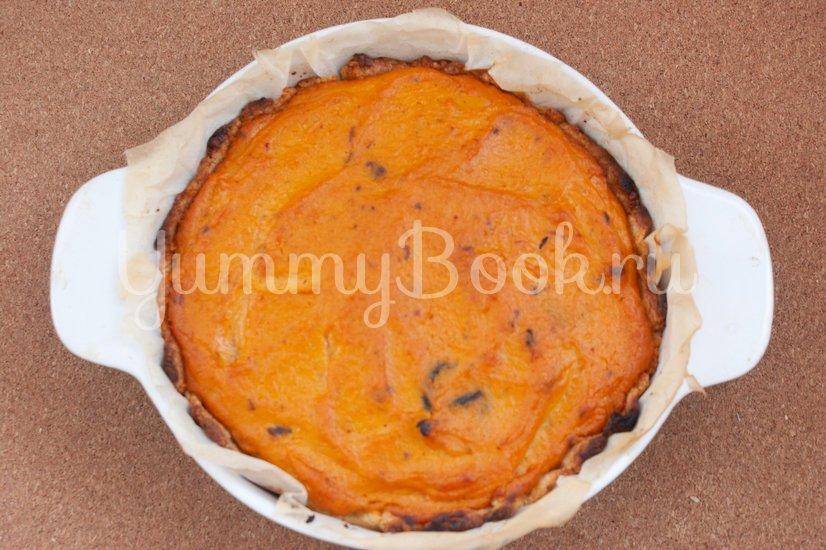 Пирог с тыквой и черносливом - шаг 12