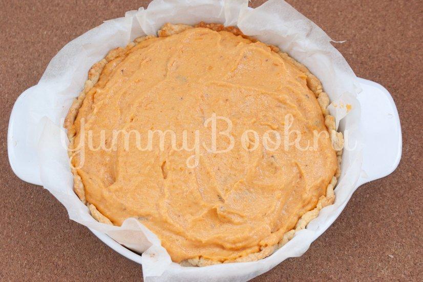 Пирог с тыквой и черносливом - шаг 11