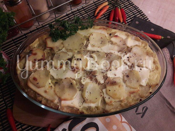 Картофельная запеканка с луком и фетой - шаг 10