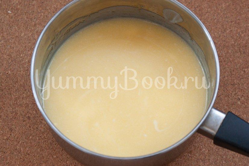 Вафельный торт с желейно-сметанным кремом - шаг 2