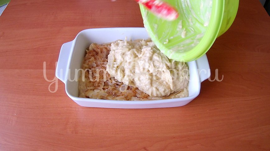 Бобеле - картофельный пирог- запеканка - шаг 5