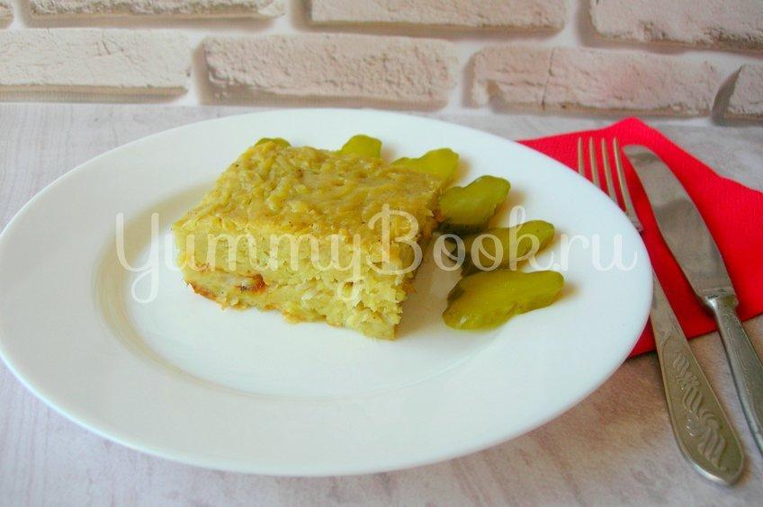 Бобеле - картофельный пирог- запеканка