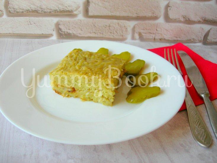 Бобеле - картофельный пирог- запеканка - шаг 6