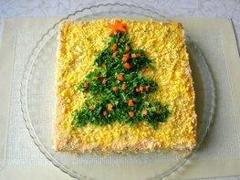 Закусочный торт «Застольный»