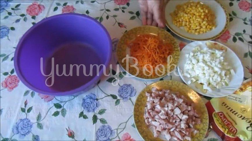 Салат с копченой курицей и морковью по-корейски - шаг 2