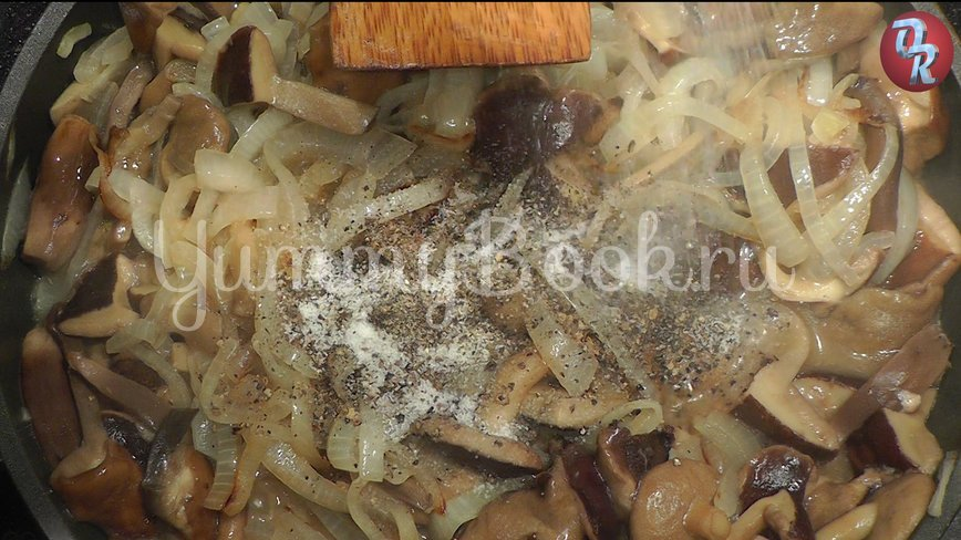 Грибной соус, грибной суп, грибная юшка из польских грибов - шаг 5
