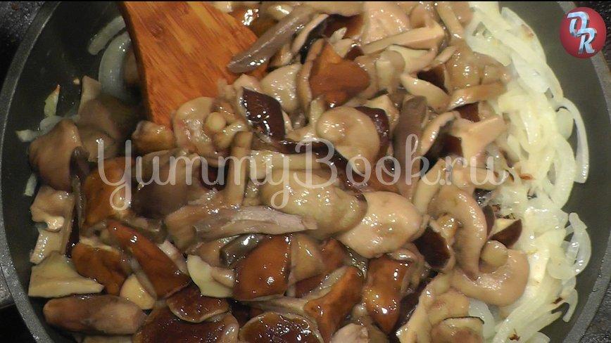 Грибной соус, грибной суп, грибная юшка из польских грибов - шаг 4