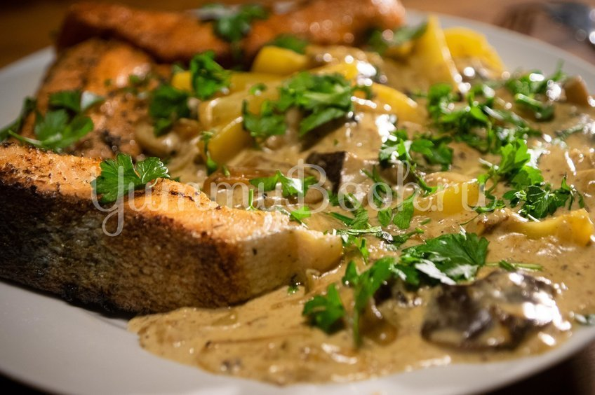 Грибной соус, грибной суп, грибная юшка из польских грибов