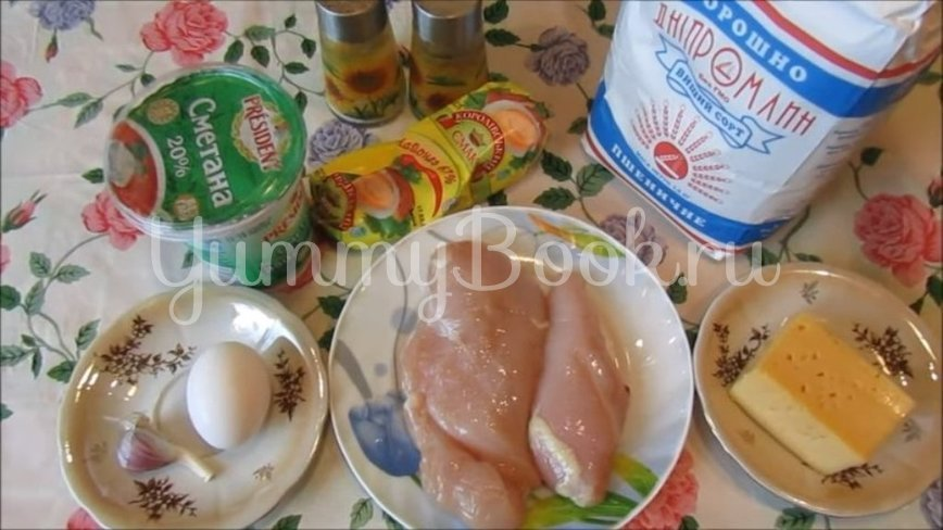 Куриные котлеты с тёртым сыром - шаг 1