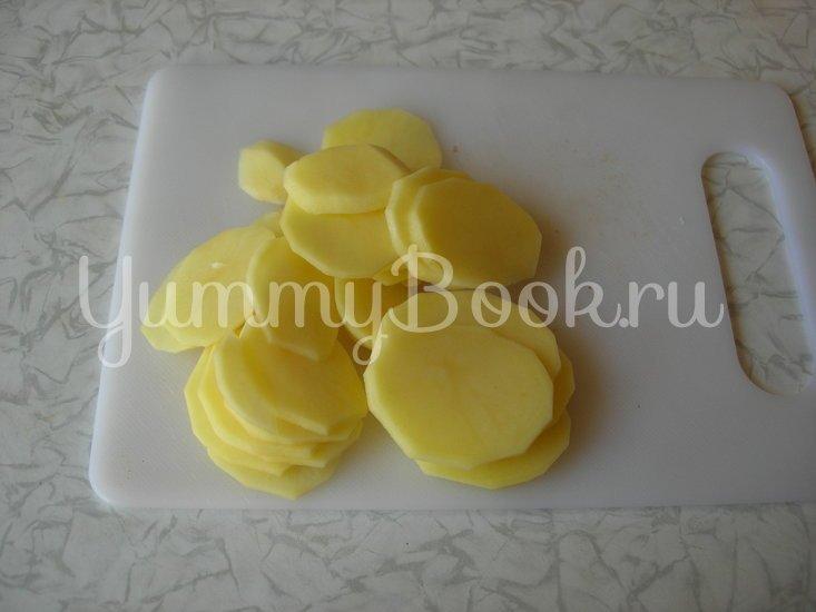 Картофельная запеканка с шампиньонами - шаг 3